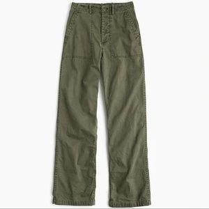 J.Crew Foundry Pant: High Rise, Wide Leg